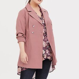🎉 HOST PICK 💕 TWILL DOUBLE-BREASTED COAT